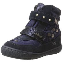 Primigi Mädchen Pty GTX 8177 Hohe Sneaker, Blau (Navy/Navy), 34 EU