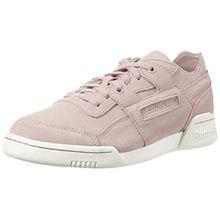 Reebok Damen Workout Lo Plus Fbt Sneaker, Pink (Shell Pink/Sandy Rose/Chalk), 39 EU
