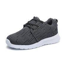 Hawkwell Unisex Kinder/Jugend Leicht Runing Sportschuhe Sneakers Grau 29EU
