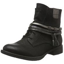 Jana Damen 25208 Kurzschaft Stiefel, Schwarz (Black 001), 39 EU