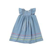ESPRIT Kleid blue denim / mischfarben