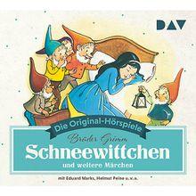 CD Schneewittchen und weitere Märchen Hörbuch