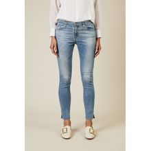 AG Jeans Super-Skinny-Jeans 'The Legging Ankle' Blau