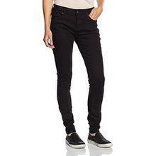 ESPRIT Damen Skinny Jeanshose 995EE1B905, Gr. W30/L32 (Herstellergröße: 30/32), Schwarz (BLACK 001)