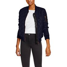 khujo Damen Jacke Coca, Blau (Midnight Blue 407), Medium