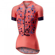 Castelli - Women's Climber's Jersey - Radtrikot Gr L;M;S;XL;XS türkis;rot/rosa