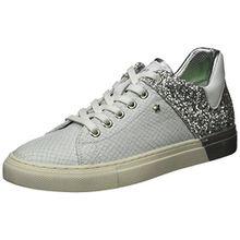 Replay Damen Lolard Sneaker, Silber (White Silver), 38 EU