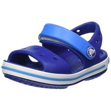 crocs Crocband Sandal Kids, Unisex - Kinder Sandalen, Blau (Cerulean Blue/Ocean), 25/26 EU