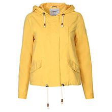 Only Damen Parka Übergangsjacke Kapuzenjacke Jacke (34 (Herstellergröße: XS), Yolk Yellow)