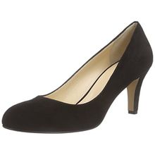 Evita Shoes Damen Pump Pumps, Schwarz (Schwarz 10), 38 EU
