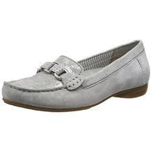 Gabor Shoes 44.211 Damen Mokassin,Grau (19 Stone/Grau),40.5 EU