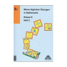 Buch - Meine täglichen Übungen in Mathematik: Klasse 8, EURO