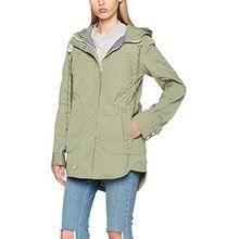khujo Damen Jacke Navassa Washed Nylon Jacket, Grün (Pistach 306), 36 (Herstellergröße:S)