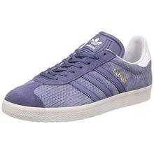 adidas Damen Gazelle Sneakers - Violett (Sup Purple/Sup Purple/O White), 38 2/3 EU