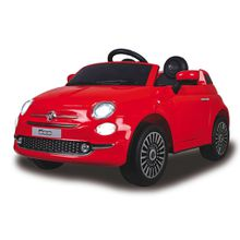 XXXL KINDERAUTO Ride-on Fiat 500, Rot