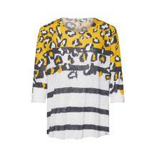 Key Largo Shirt beige / gelb / schwarz
