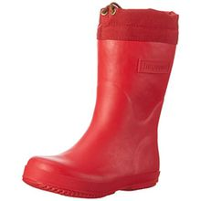 Bisgaard Unisex-Kinder Winter Thermo Gummistiefel, Rot (10 Red), 27 EU