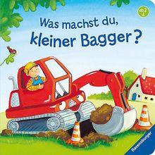 Buch - Was machst du, kleiner Bagger?