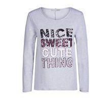 Sweater mit Pailletten bestickt