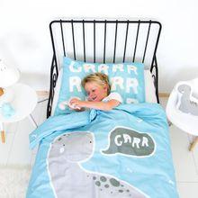 Kinderbettwäsche Dino