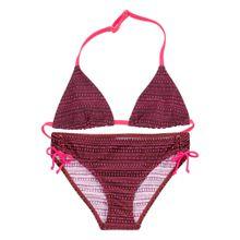 BUFFALO Triangel-Bikini bordeaux