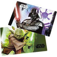 Platzset Star Wars, 2 Stück schwarz/grün