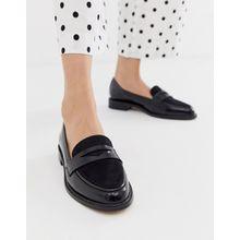 ASOS DESIGN – Mantra – Flache Loafer in Schwarz