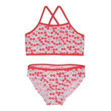 NAME IT Bikini grau / pink