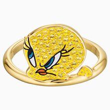 Looney Tunes Tweety Motivring, gelb, Vergoldet