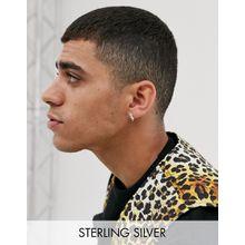 ASOS DESIGN – Ohrringe aus Sterlingsilber mit Stachel