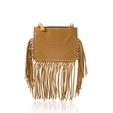 Majorelle Brown Fringe