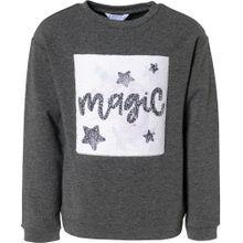 Mayoral Sweatshirt graumeliert / mischfarben