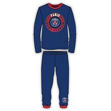 PARIS SAINT GERMAIN FC Jungen Schlafanzug Blau blau, Blau