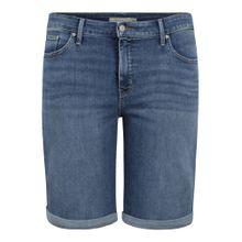 Levi's® Plus Jeans 'Shaping Bermuda' blue denim