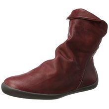 Softinos Damen NAT332SOF Washed Leather Stiefel, Rot (Scarlet), 36 EU