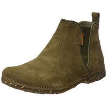 El Naturalista Damen N996 Lux Suede Kaki/Angkor Chelsea Boots, Grün (Kaki), 37 EU