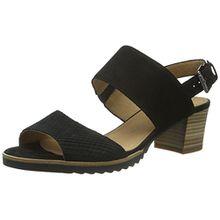 Gabor Shoes 42.385 Damen Offen Sandalen,Schwarz (47 Schwarz(S.s/c A.c)),40 EU