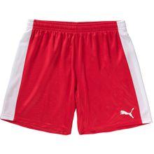 PUMA Shorts rot / weiß