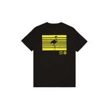 HORIZN STUDIOS Neon Barcode T-Shirt - Black