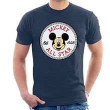 Mickey Mouse All Star Converse Logo Men's T-Shirt