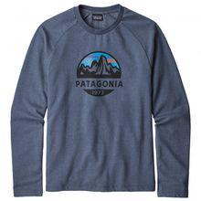 Patagonia - Fitz Roy Scope Lightweight Crew Sweatshirt - Pullover Gr L;M;S;XL;XXL blau;grau/schwarz