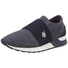 Marc O'Polo Damen 70113893503200 Sneaker, Blau (Dark Blue), 37 EU