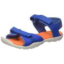 adidas Unisex-Kinder Sandplay Od Peeptoe Sandalen, Blau (Belazu/Azretr/Naranj 000), 33 EU