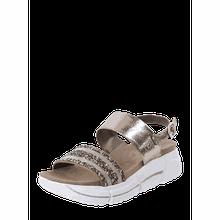 Sandalen mit Ziersteinen Modell 'Raja'