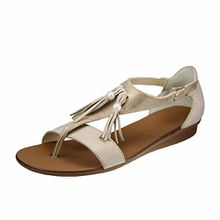 Paul Green Damen Sandaletten 6069-009 Beige 263063