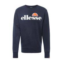 ELLESSE Sweatshirt 'SMALL LOGO SUCCISO' navy / orange / weiß