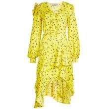 Preen by Thornton Bregazzi Asymmetrisches Kleid Margot mit Print