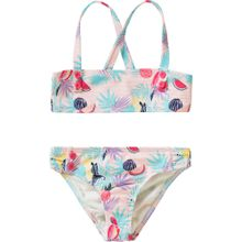 ROXY Bikini 'TROPICAL' türkis / mischfarben / rosa