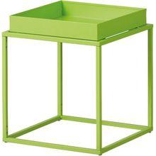 Metall-Regal B35 x T35 x H40 cm, stapelbar grün