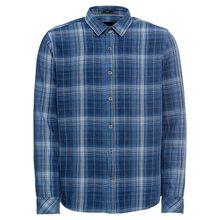 Mavi Hemd INDIGO CHECK SHIRT Langarmhemden blau Herren